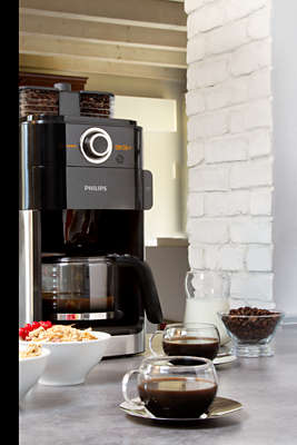 Grind & Brew Coffee maker HD7762 00