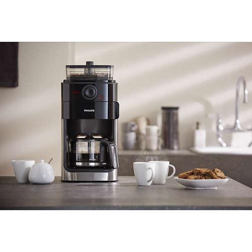 Grind & Brew Kaffemaskin