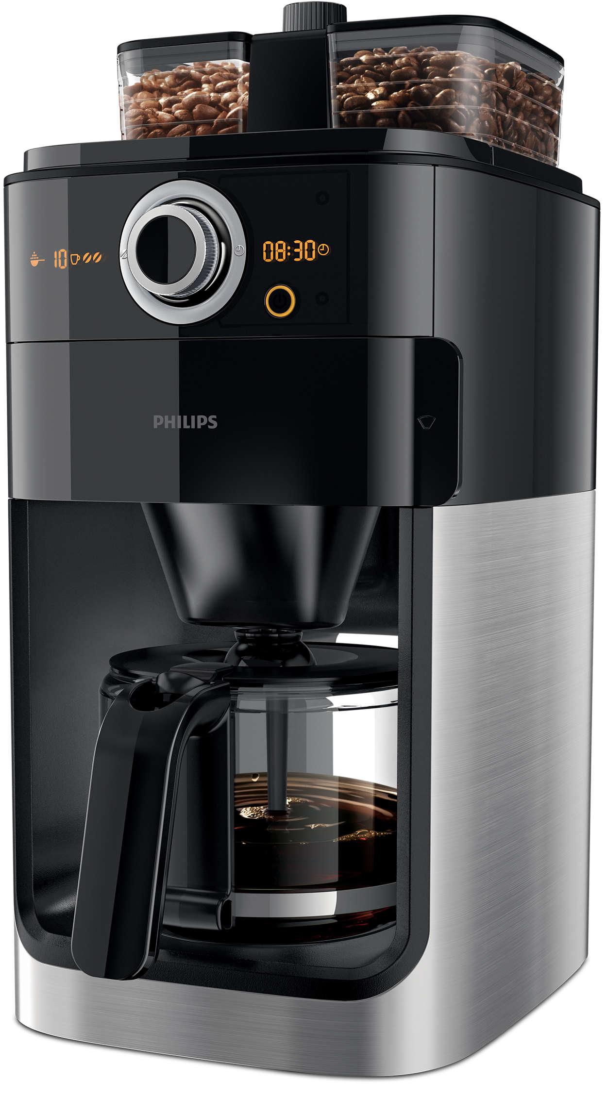 Changez et mélangez les variétés de grains de café à votre goût!