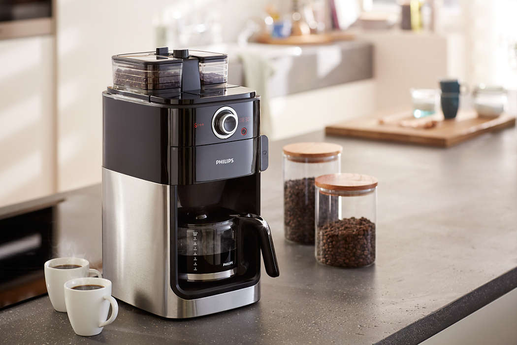Grind & Brew Cafetière HD7766/00 | Philips