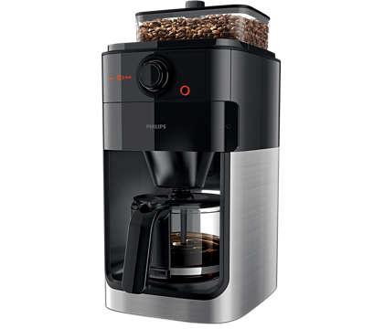Fantastisk kaffe starter med friskmalede bønner