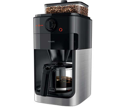 Fantastiskt kaffe börjar med nymalda bönor