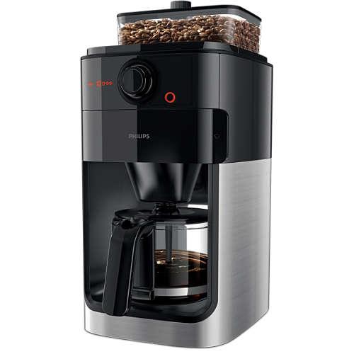 Kaffeemaschine Mit Integriertem Mahlwerk Hd776700 Kaufen Philips Shop