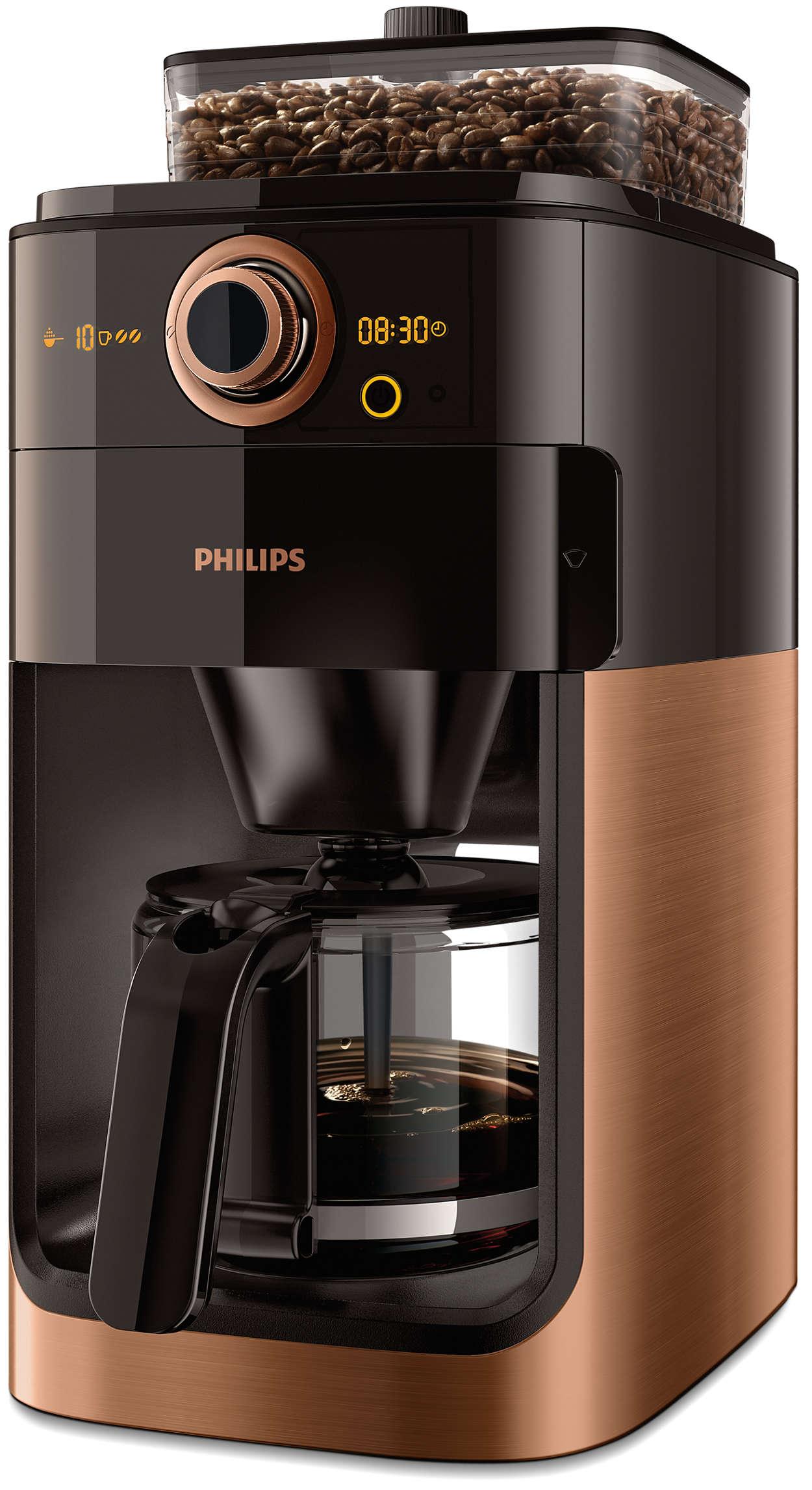 Un bon café passe par des grains fraîchement moulus