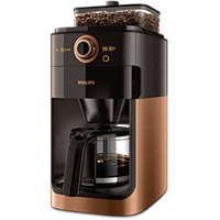 Koffiezetapparaat met geïntegreerde koffiemolen en timer