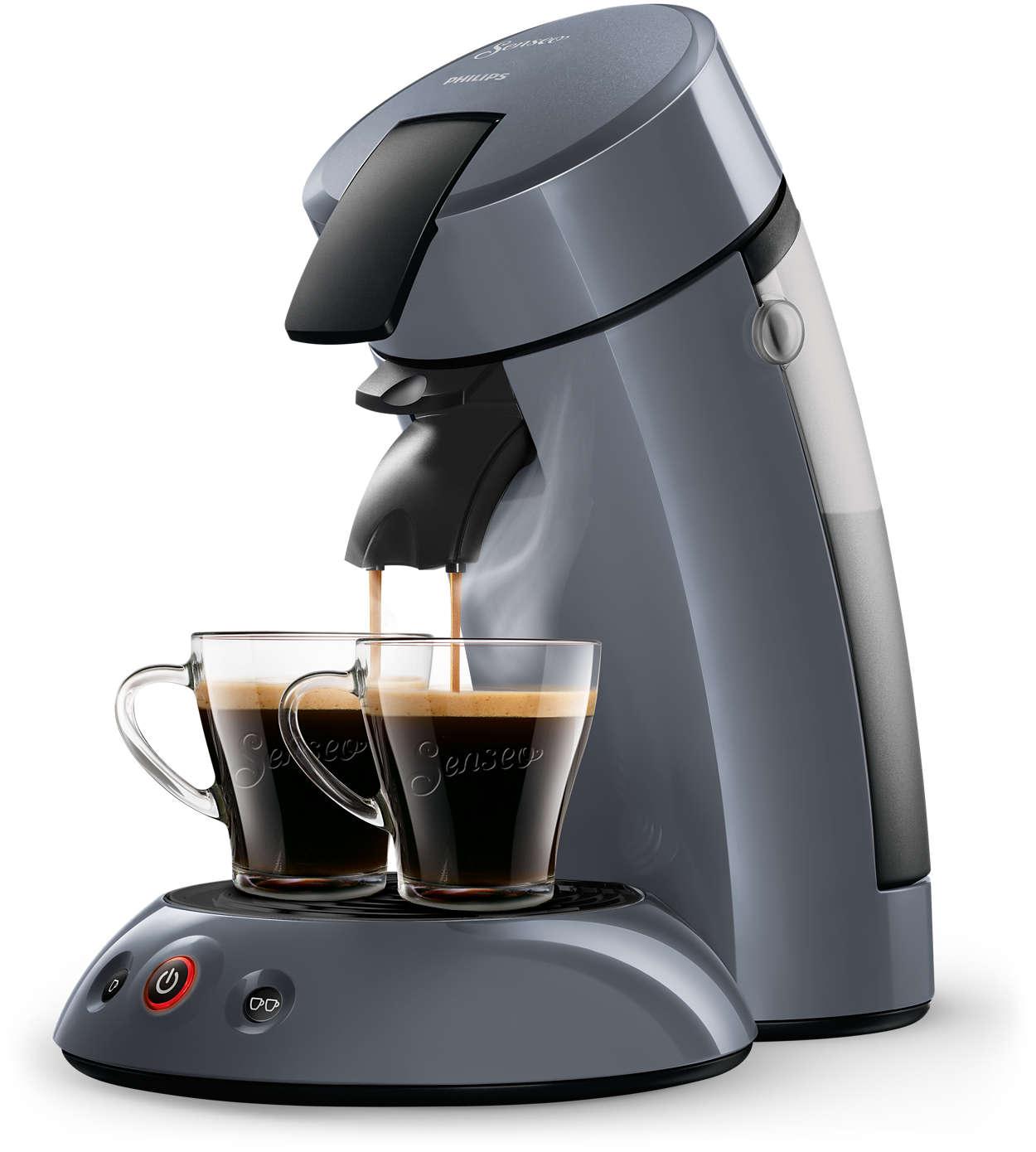 Cafetera de monodosis de café