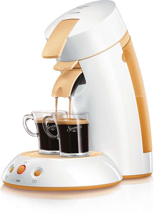 Genießen Sie einfach Ihren Kaffee