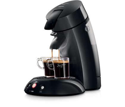 Desfrute do seu café sem esforço