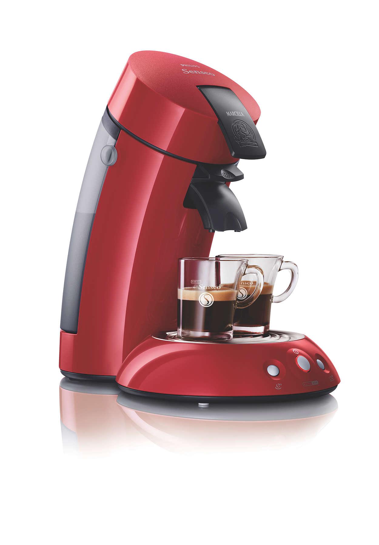 Todo el aroma, sabor y el cuerpo de su café preferido.