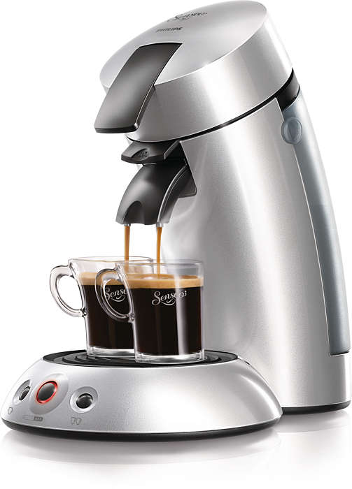 Simply enjoy your coffee