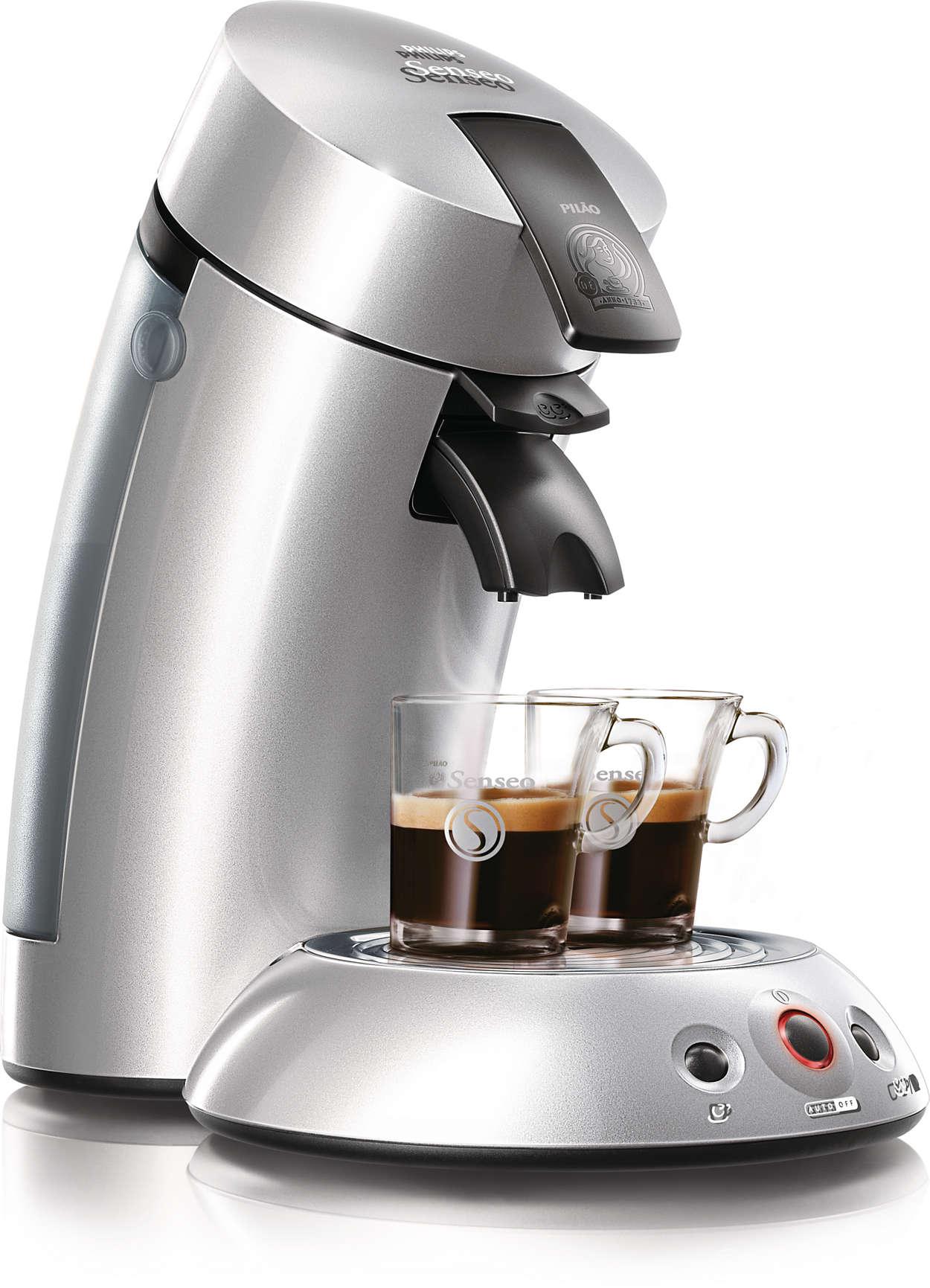 Le meilleur du café, d'une simple pression sur un bouton