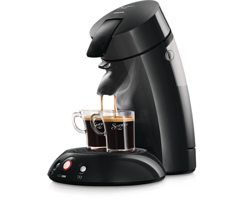 original coffee pod machine hd7814 60 senseo. Black Bedroom Furniture Sets. Home Design Ideas