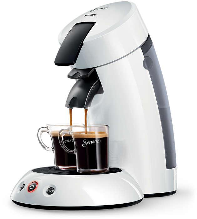 Lahodná káva stlačením jedného tlačidla