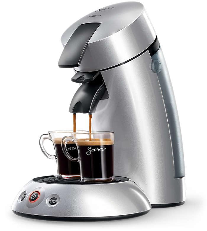 Verrukkelijke koffie met één druk op de knop