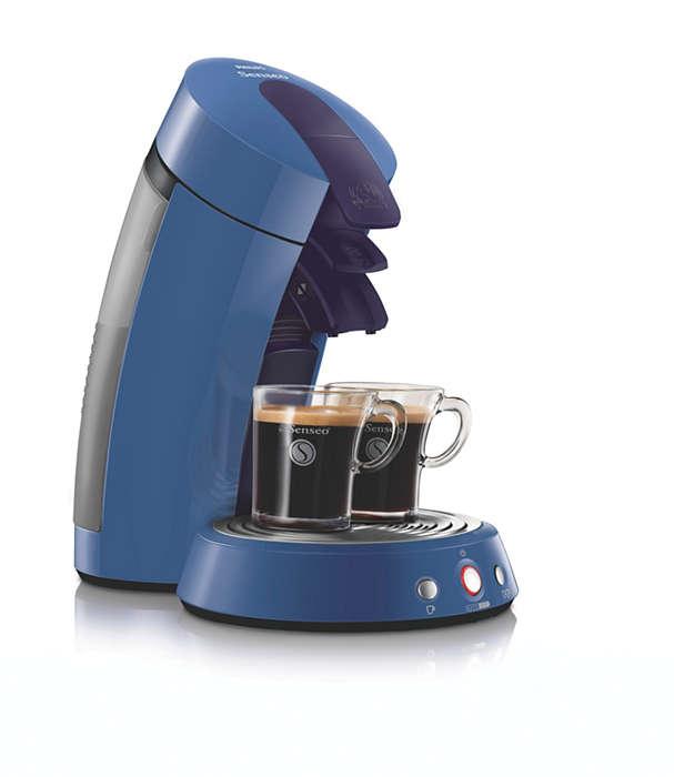 Beleef koffie zoals het hoort