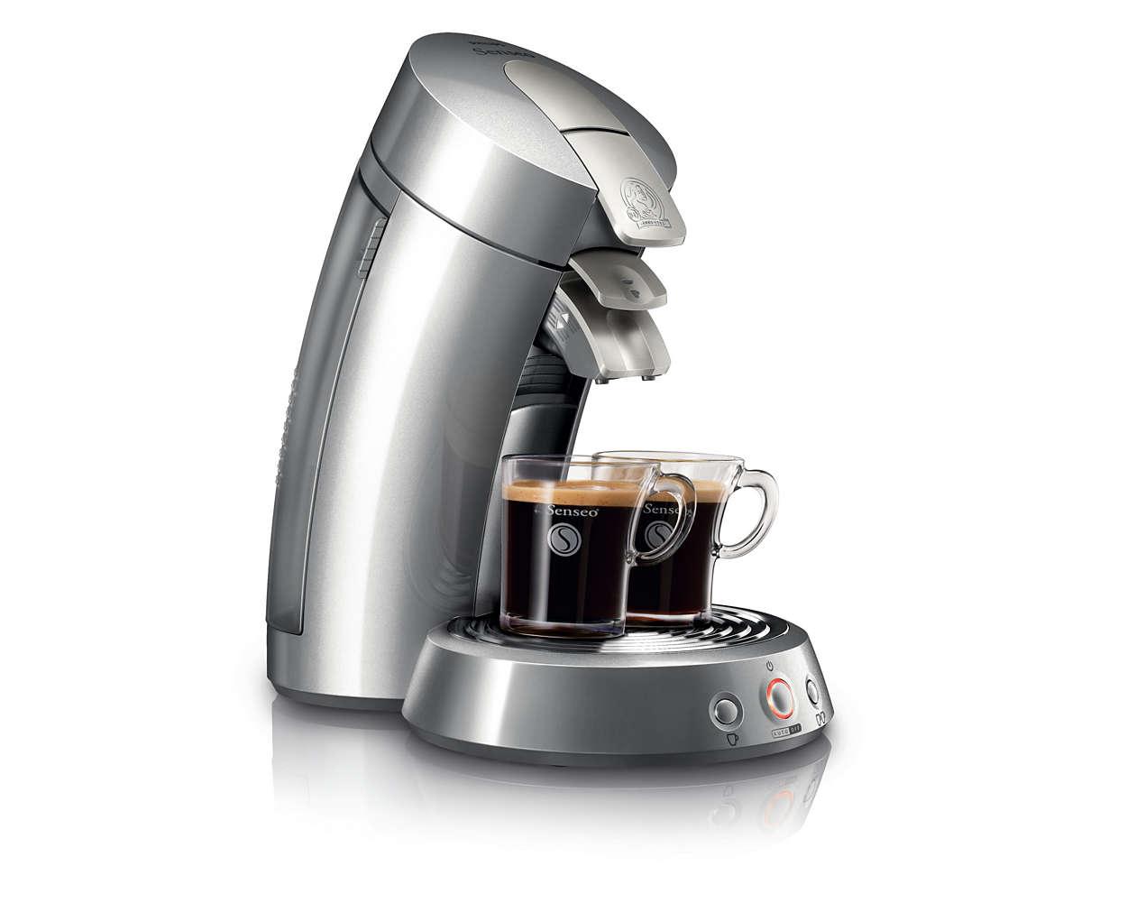 Sensationeller Kaffee mit einzigartiger Crema
