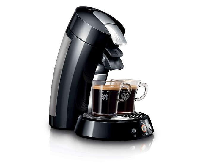 Sensationele, vers gezette koffie!