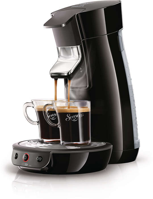 Delicioso café con solo pulsar un botón