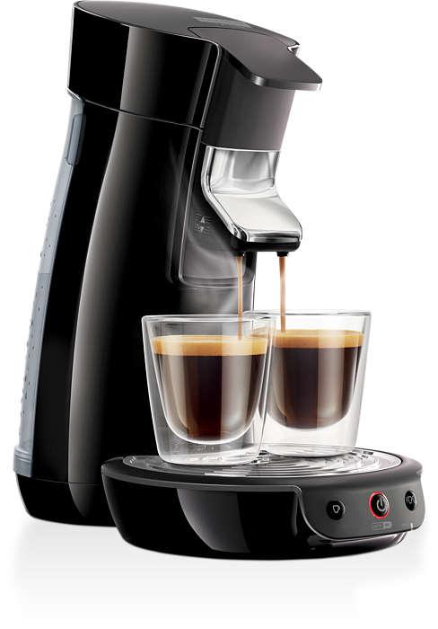 버튼 하나로 맛있는 커피 추출