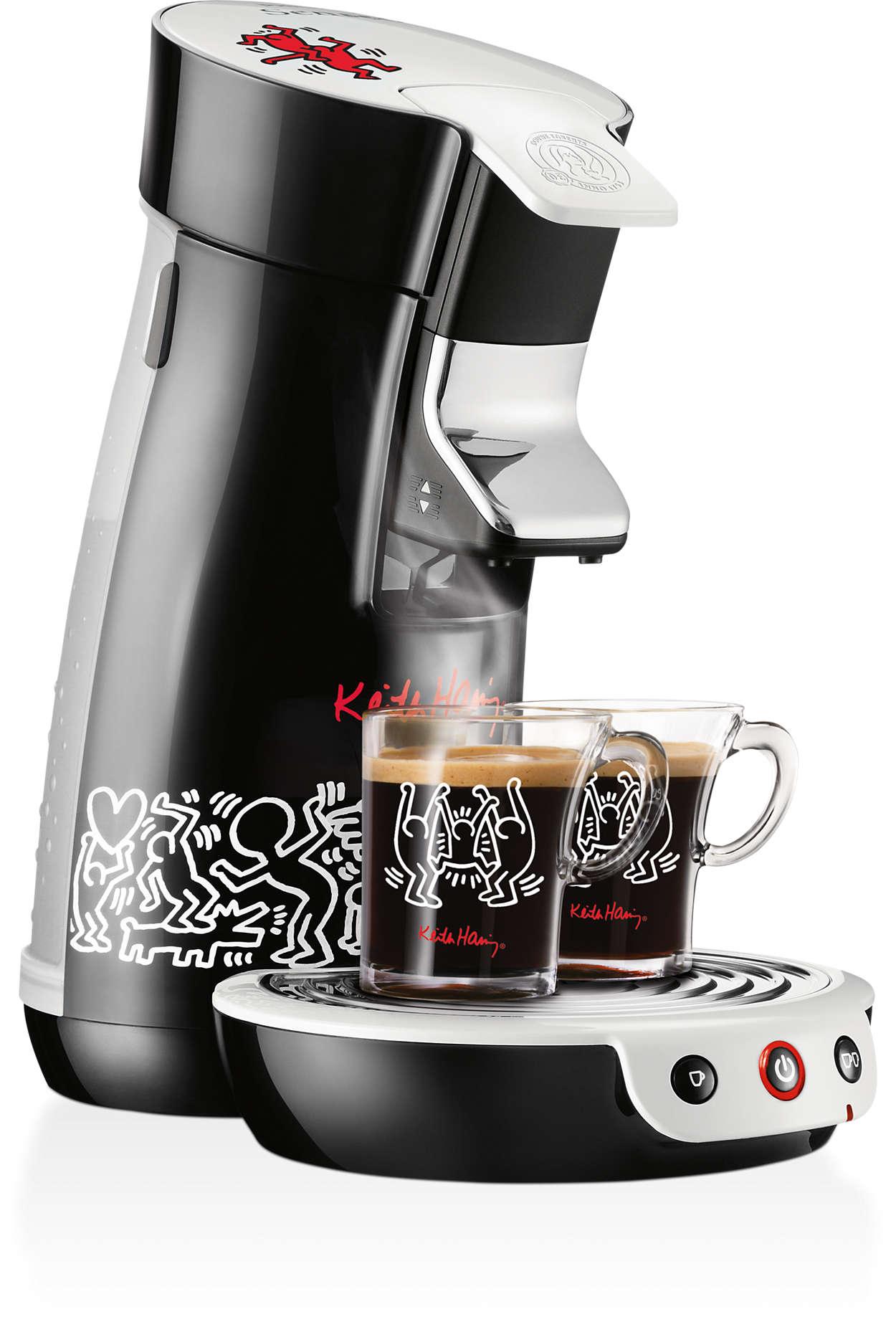 Gourmet-Kaffee bei Einzelzubereitung