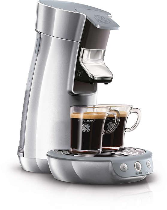 Köstlicher Kaffee auf Tastendruck