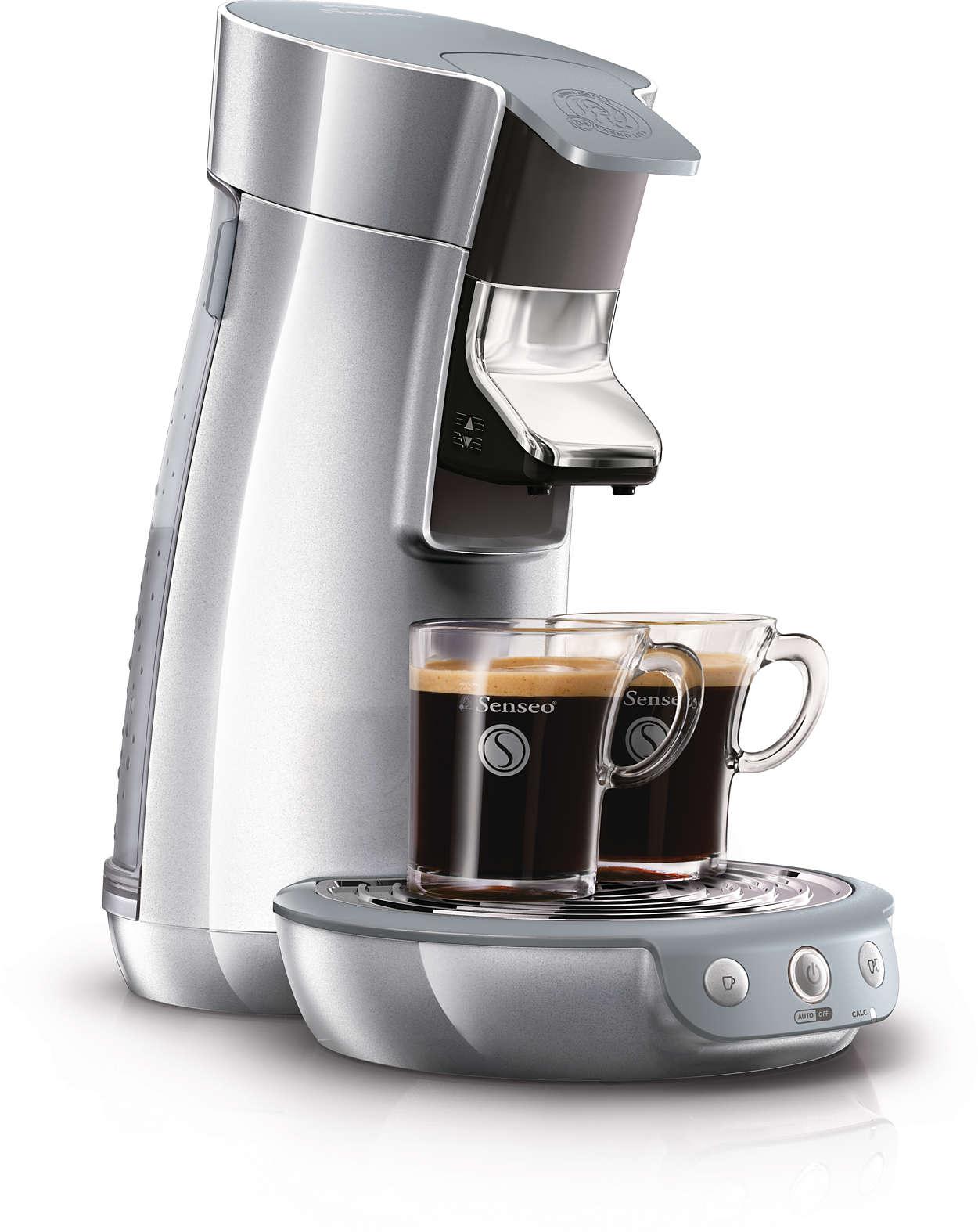Skani kava vienu mygtuko palietimu