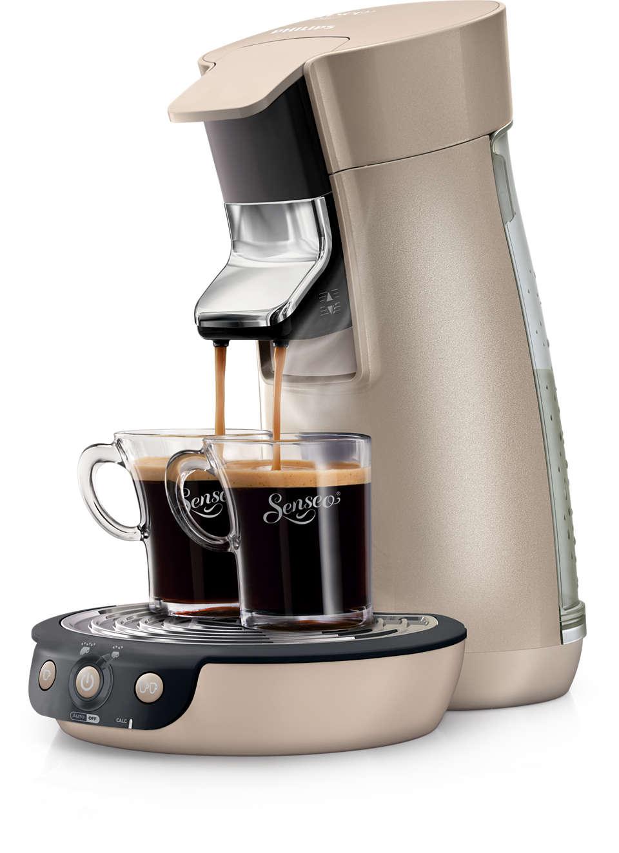 Prepare seu café SENSEO® do jeito que gosta