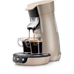 SENSEO® Viva Café Plus Cafeteira com sachê original