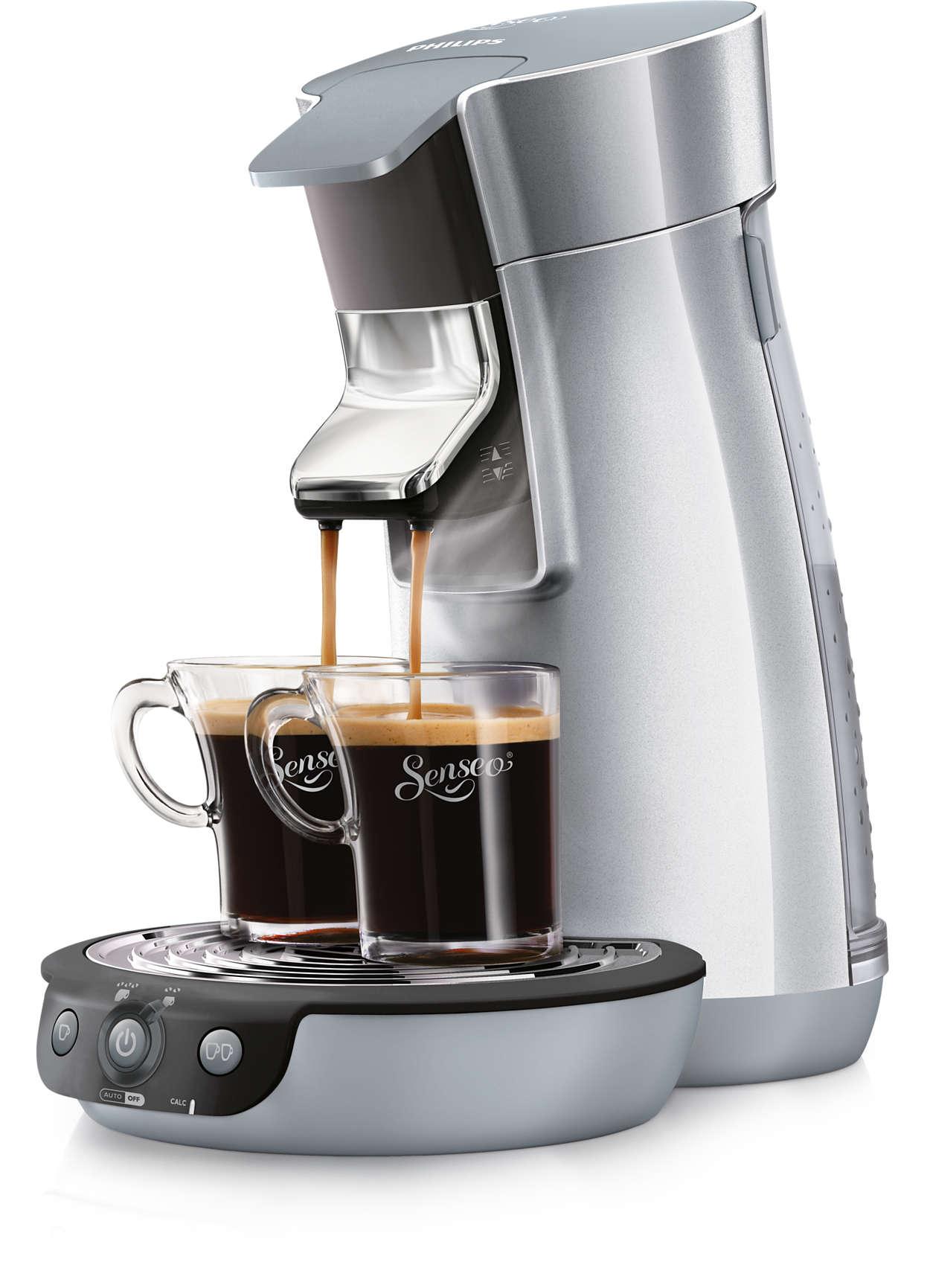 Bereiten Sie Ihren SENSEO® Kaffee ganz nach Ihrem Geschmack zu