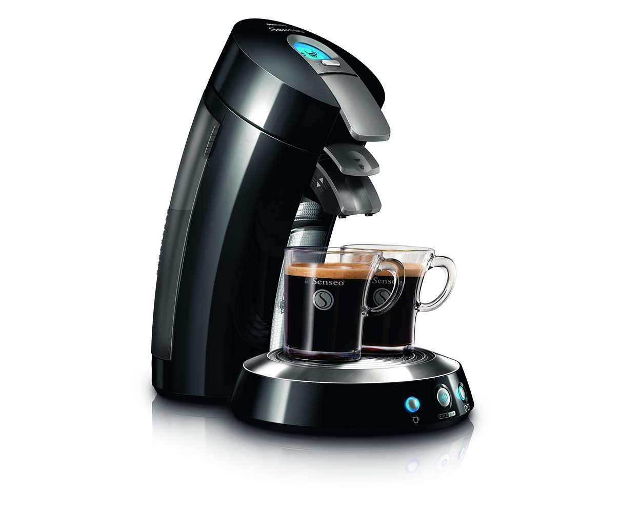 Köstliche Kaffeespezialitäten auf Knopfdruck!