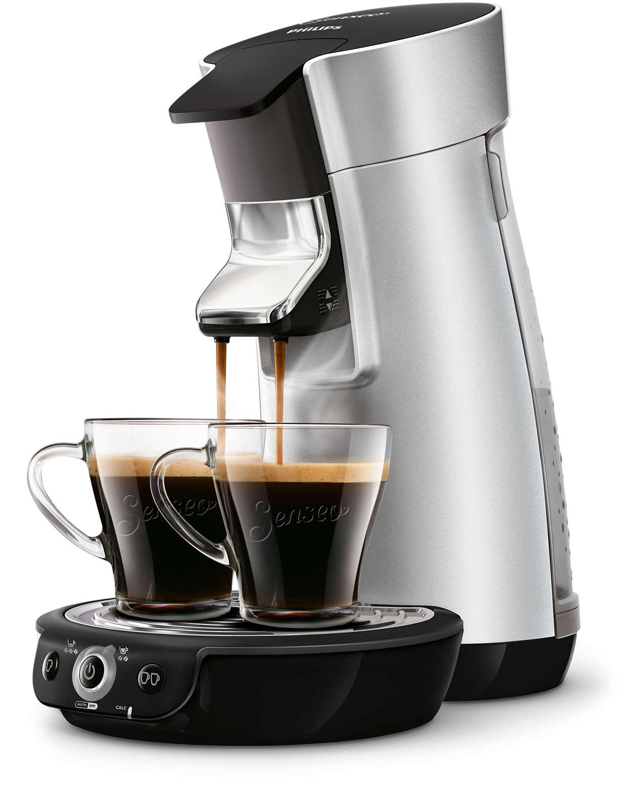 viva caf plus machine caf dosettes hd7831 11 senseo