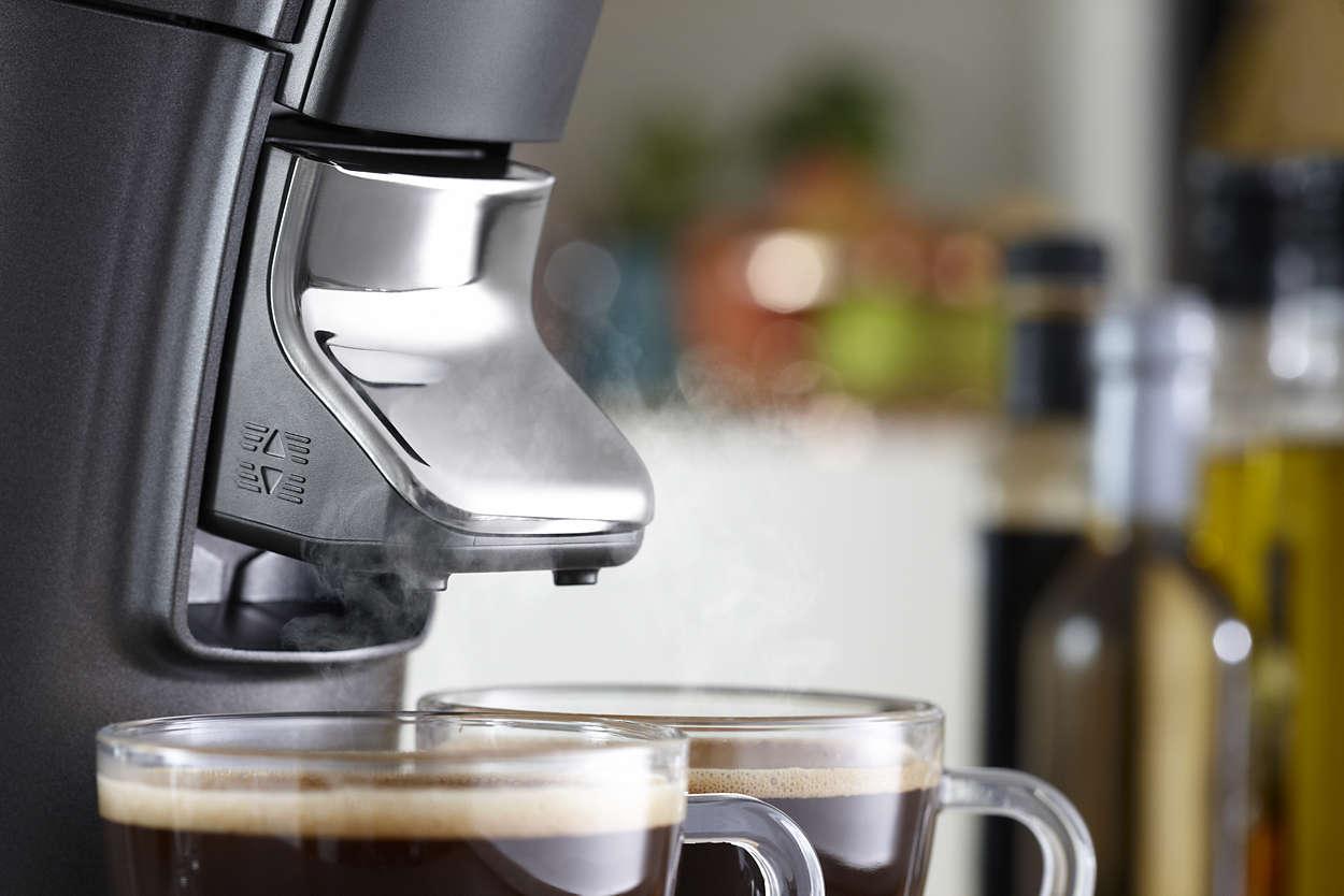 Viva Café Plus Kaffeepadmaschine HD7831/30   SENSEO®