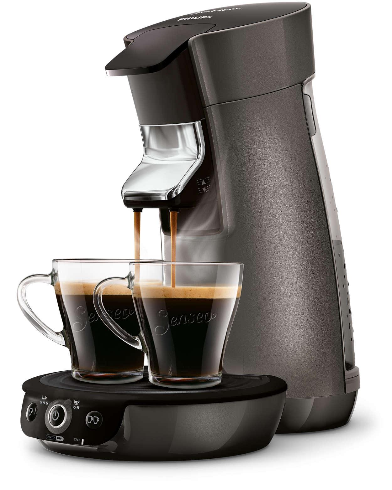 viva caf style machine caf dosettes hd7833 51 senseo. Black Bedroom Furniture Sets. Home Design Ideas