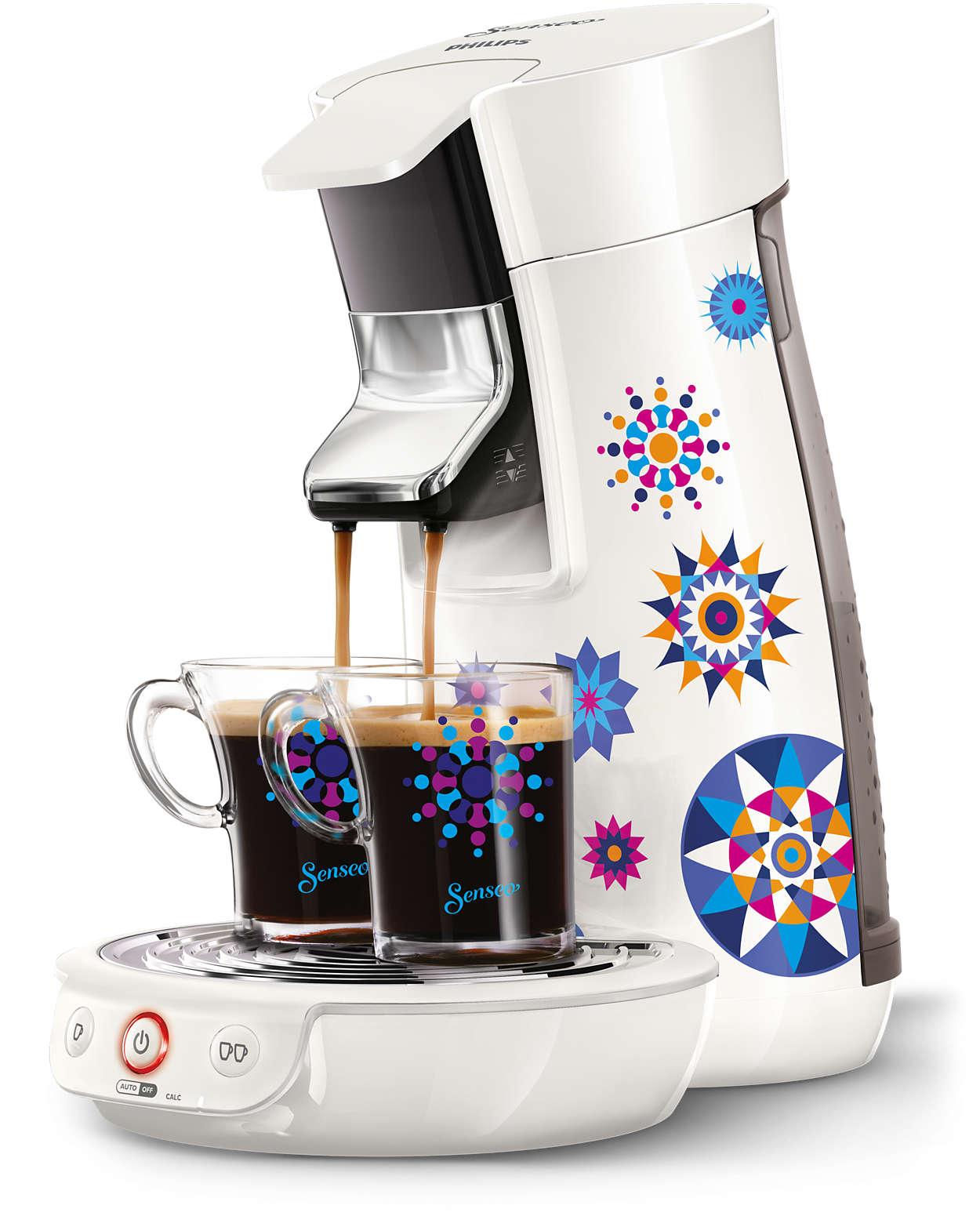 viva caf machine caf dosettes hd7836 11 senseo. Black Bedroom Furniture Sets. Home Design Ideas