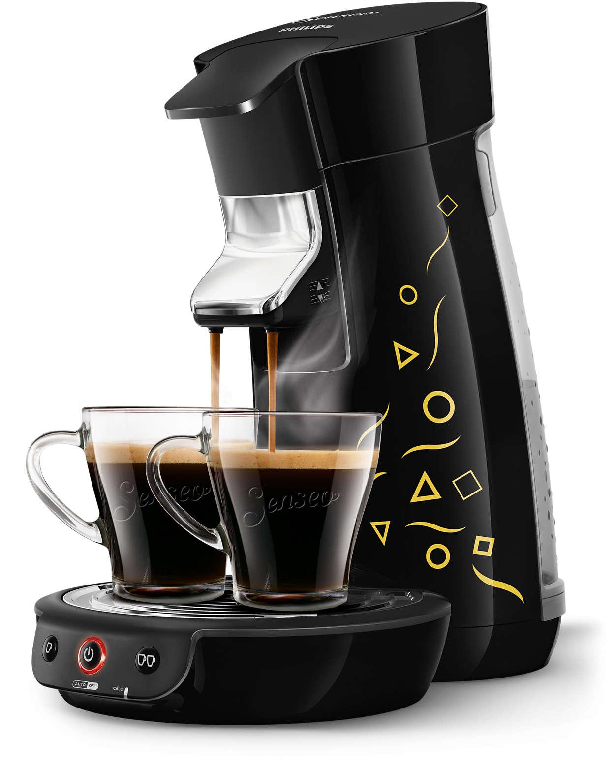 viva caf machine caf dosettes hd7836 61 senseo. Black Bedroom Furniture Sets. Home Design Ideas