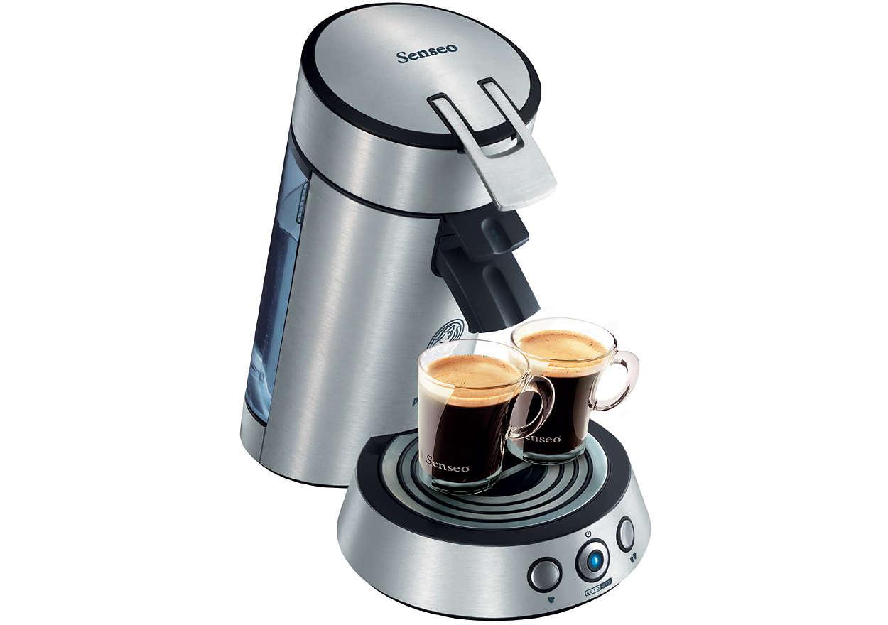 Галещо сетивата прясно сварено кафе!