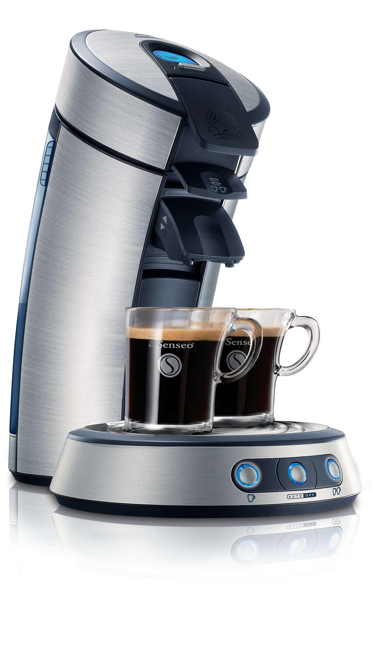 Fantastisk, nybrygget kaffe!