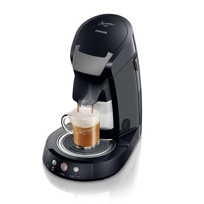 Cappuccino Select Machine à café à dosettes HD7853/60 | SENSEO®