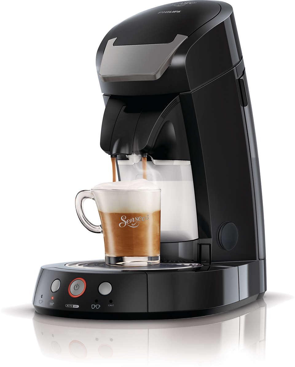 Un bon cappuccino passe par du lait frais!