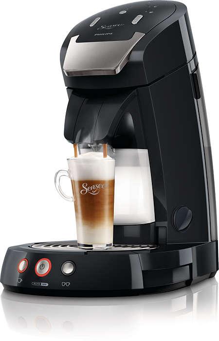 De beste cappuccinoene lages med fersk melk.