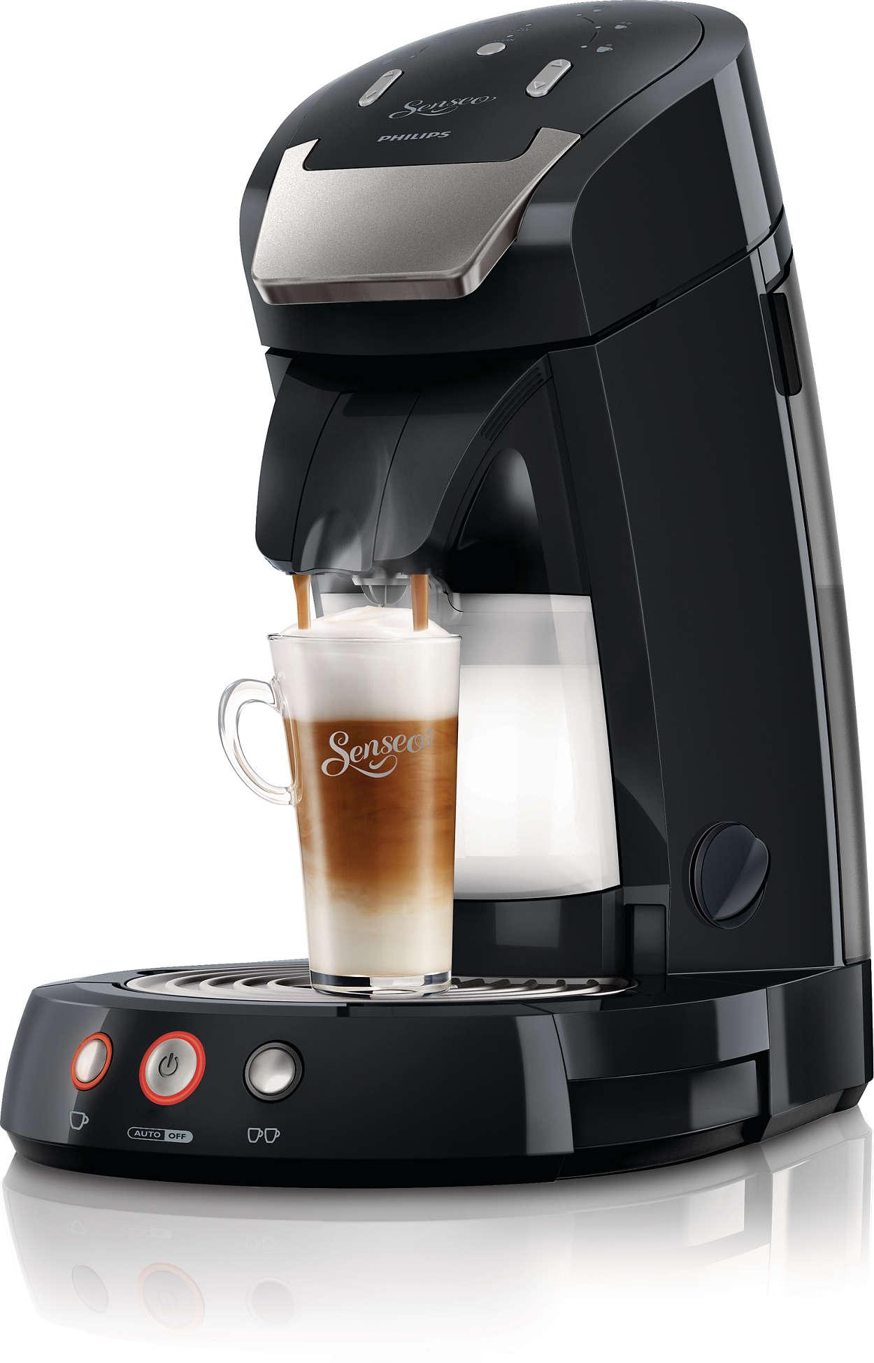 Den bästa cappuccinon gör man med färsk mjölk!