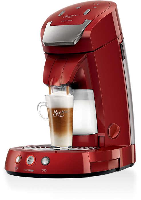 Os melhores cappuccinos são preparados com leite fresco