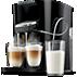 Philips Latte Duo Plus Koffiezetapparaat HD7856/50 2 cappuccino's in één keer, geïntegreerde melkopschuimer, Easy-Clean-functie, zwart