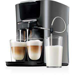 Latte Duo Plus Cafetera de monodosis de café