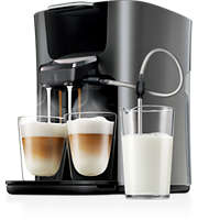 2 cappuccino i ett svep, SENSEO®-kaffemaskin