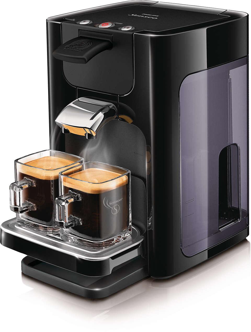 Pompás kávé egyetlen gombnyomással