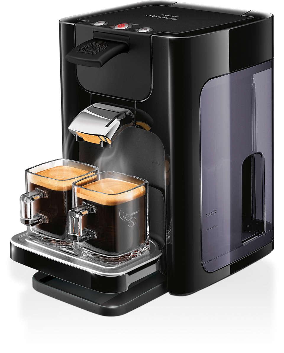 Café delicioso e cremoso
