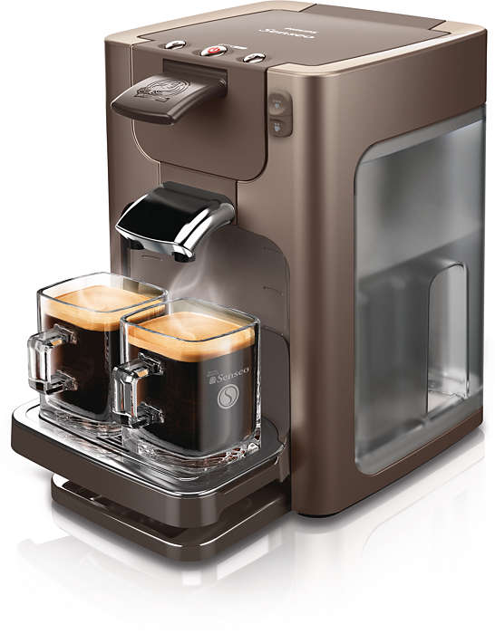 Gott kaffe med en enkel knapptryckning