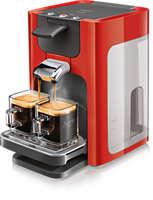 Koffiezetapparaat met verstelbare ladehoogte