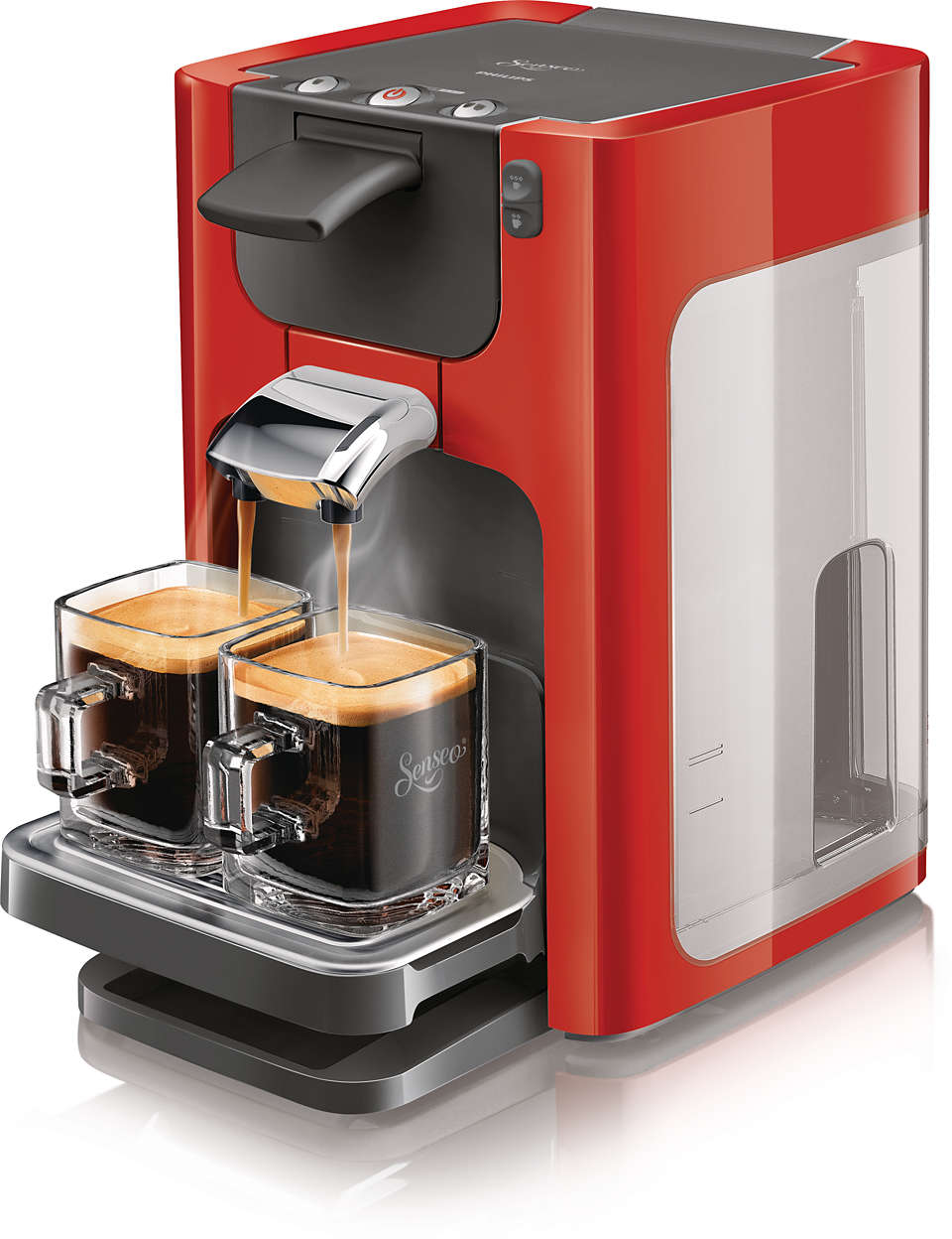 Delicious coffee at a touch, in a modern design